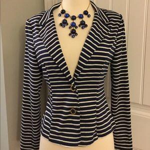 🆕 Nautical Striped Blazer